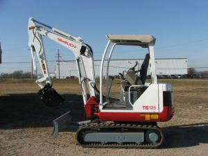Escavatore Takeuchi TB125