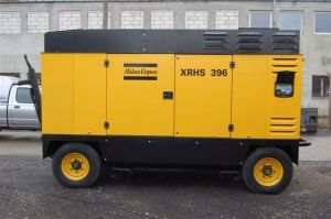 Motocompressore Atlas Copco XRHS 396